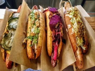 Danish Dogs hot dogs Grand Central Nueva York 365 Sanguchez
