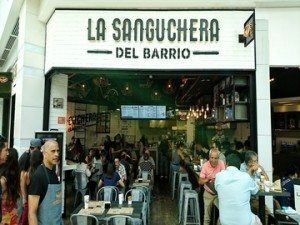 La Sanguchera del Barrio Costanera Center 365 Sánguchez